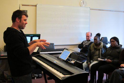 Worship Keyboard Training