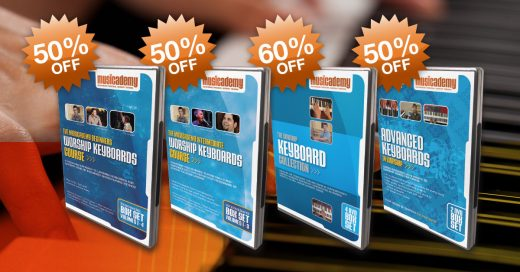 Worship Keyboard Course flash sale