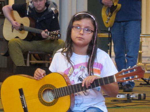 mentoring younger worship musicians