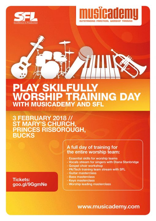 Musicademy Worship Training Day