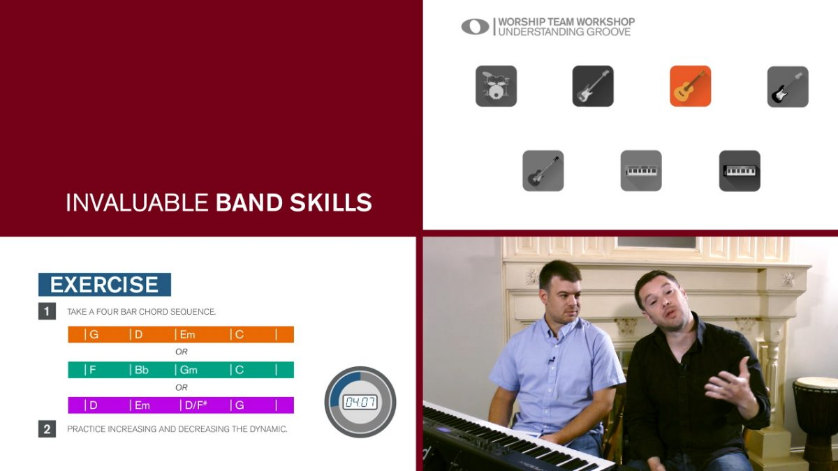 New from Musicademy: Worship Team Workshops
