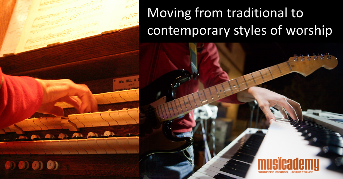 How to transition from traditional to contemporary worship