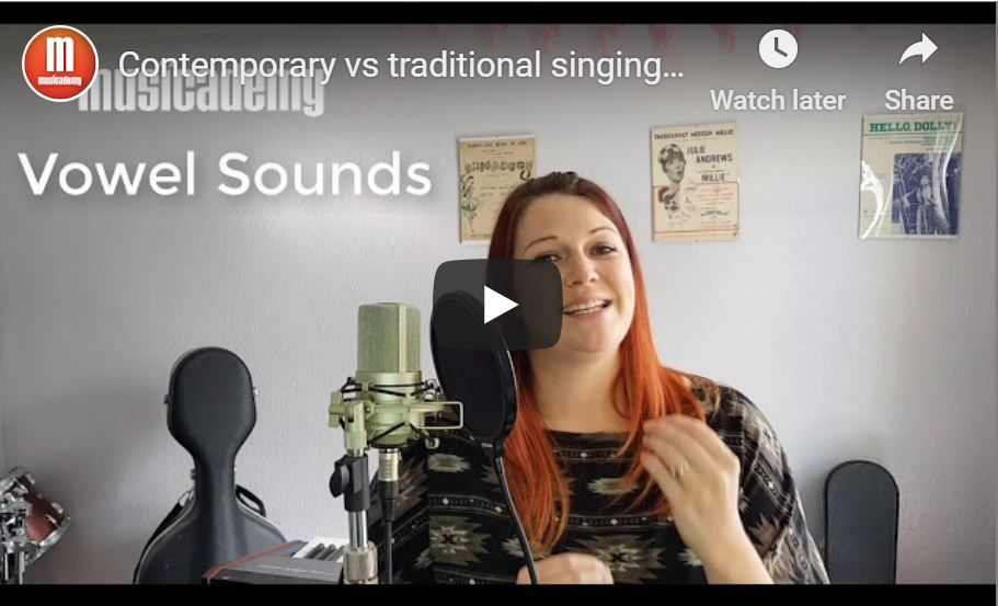 Contemporary vs traditional singing techniques [Video]