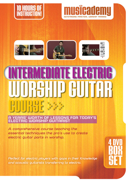 The Intermediate Electric Worship Guitar DVDs