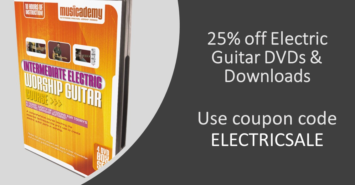 [Flash sale] Save at least 25% on the Musicademy Electric Guitar Course