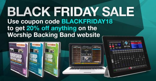 Black Friday MultiTracks and DVDs