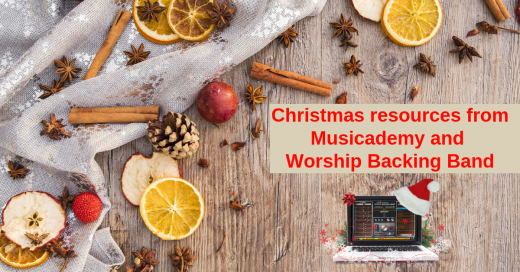 Christmas carol backing tracks and other resources