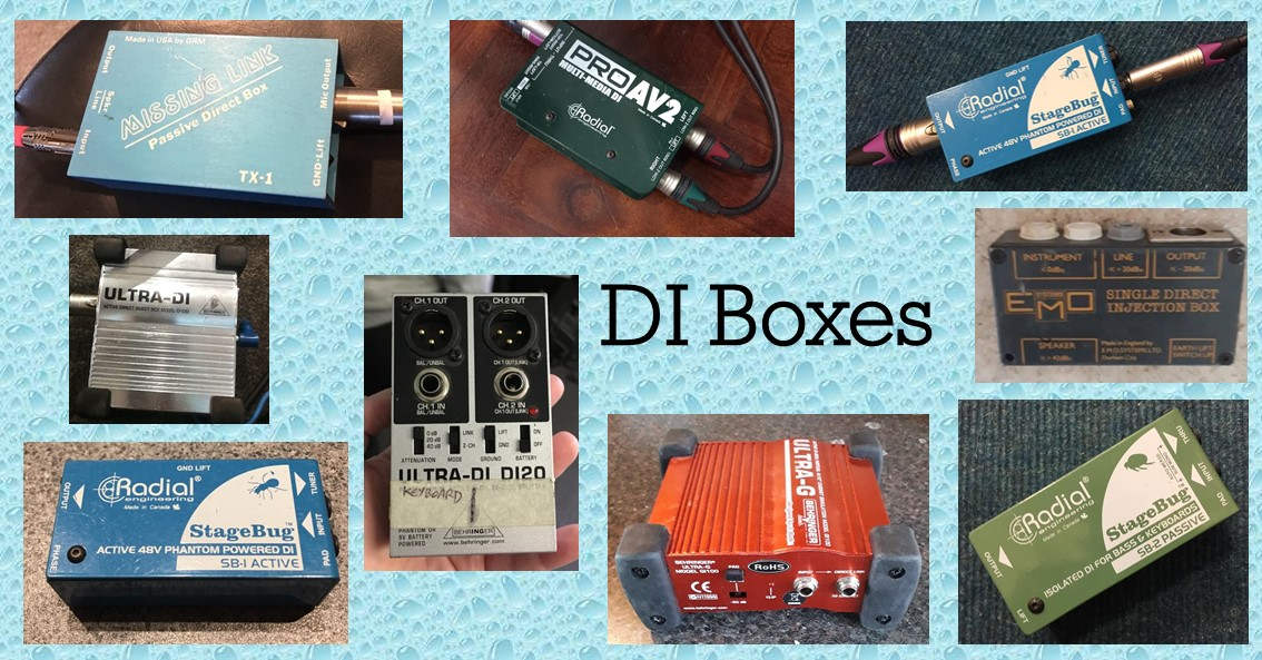 Buyers Guide – DI boxes for guitarists