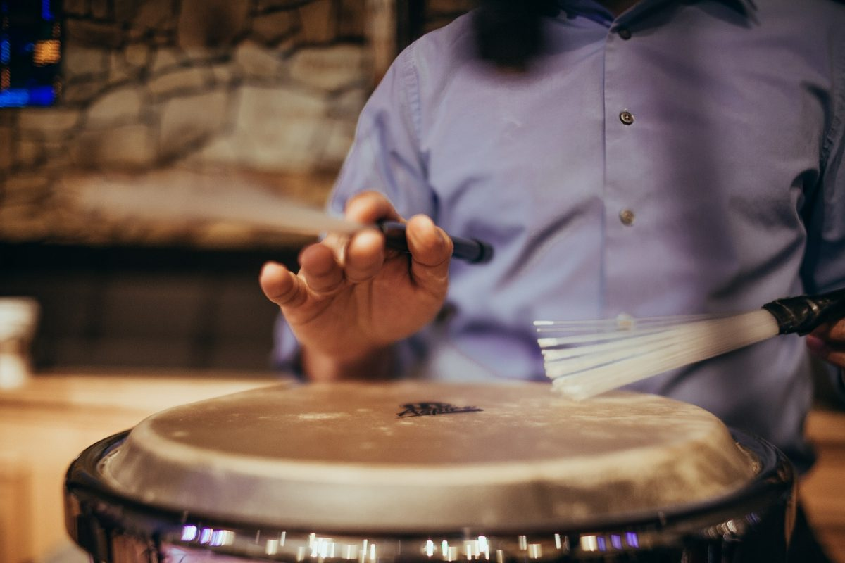 [Journal] Teaching a non-musician to get them to play conga for worship