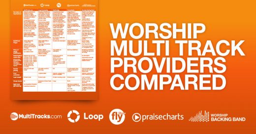 Worship Multitracks Compared