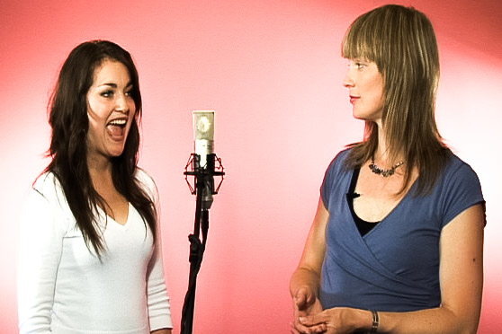 Download over an hour of vocal warm-up exercises