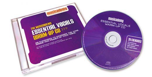 Singing warm-up CDs and Downloads