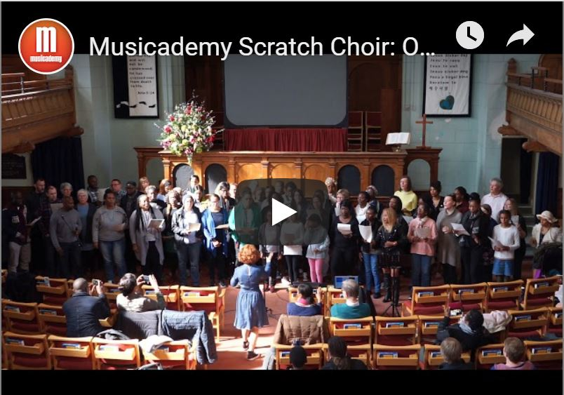 Musicademy Scratch Gospel Choir: One Voice