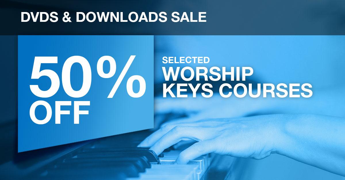 Half price worship keyboard course flash sale