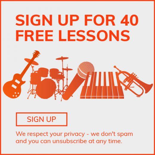 Sign Up for 40 Free Lessons