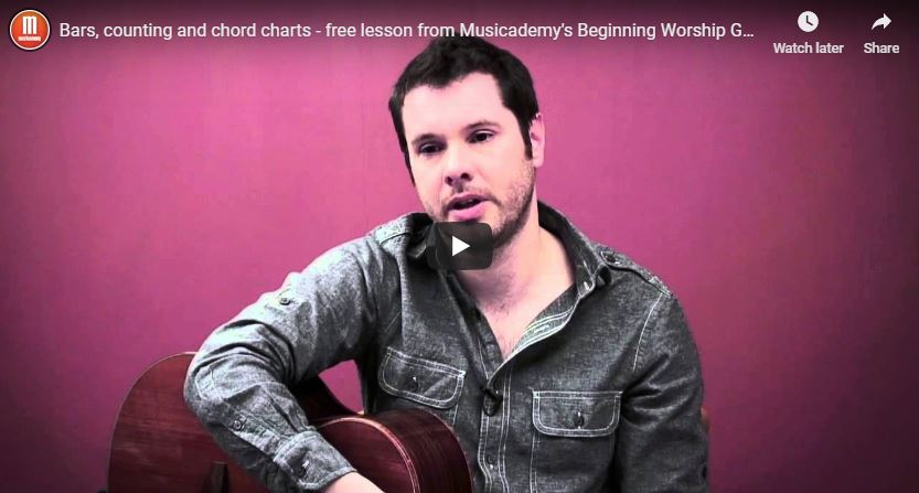 Bars, counting and chord charts – free beginner music theory lesson