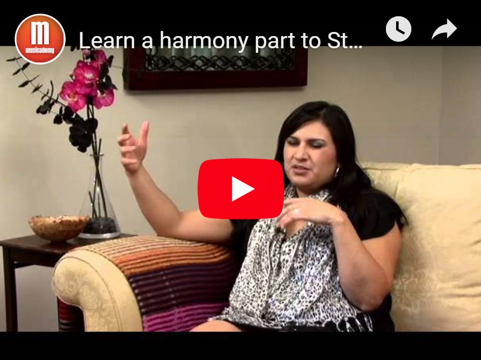 Free lesson – Learn 2 harmony parts to In Christ Alone plus a free backing track