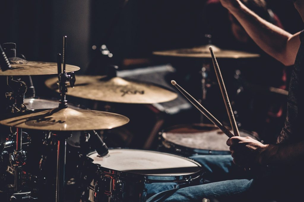 how loud are the drums in church