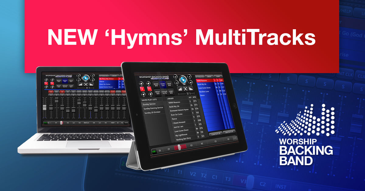 Hymns! 8 new MultiTracks from David Woodman