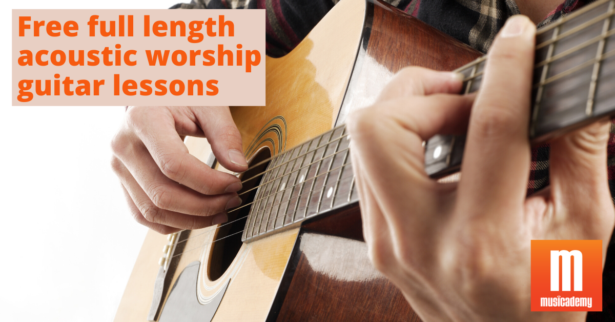 Free Online Worship Guitar Lessons | Acoustic