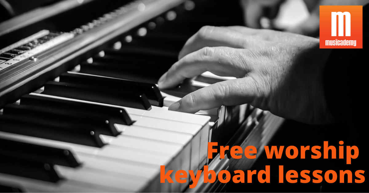 Free worship keys lessons | Learn to play keyboard in church