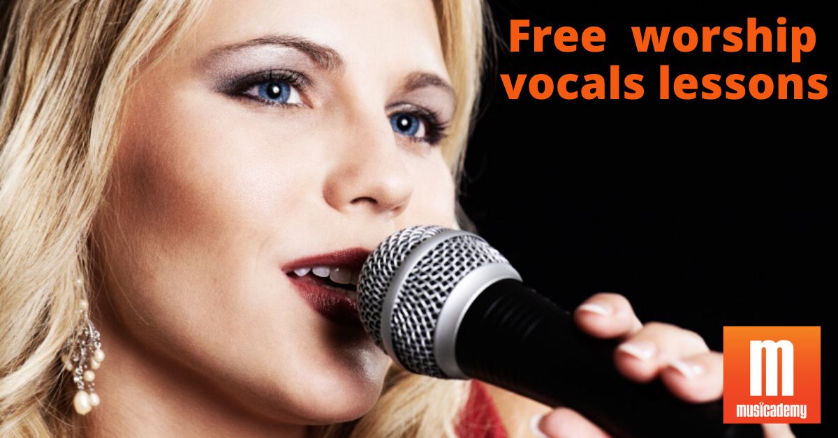 Free worship singing lessons