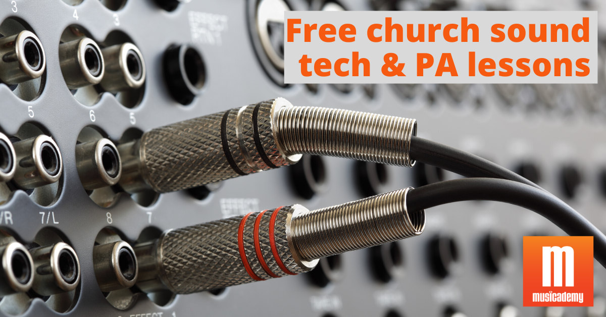 Church sound training | Sound system set-up