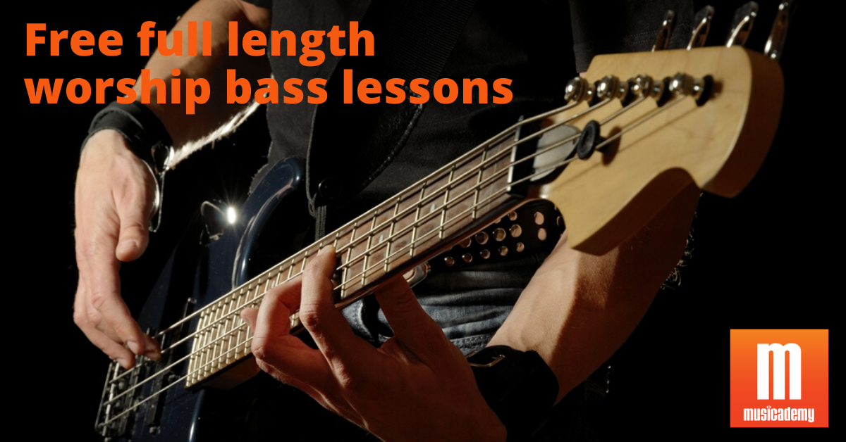 Free Online Worship Bass Lessons | Learn with Musicademy bass tutorials