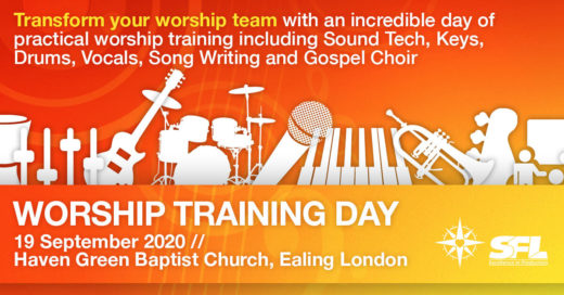 Worship Training Day Ealing London 19 September 2020