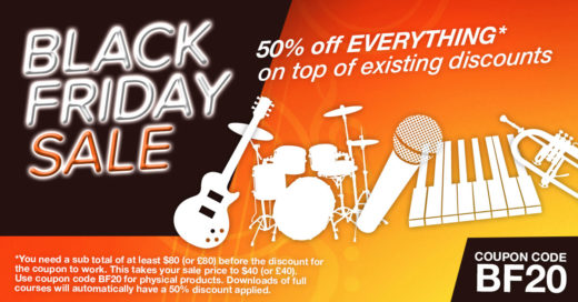 Black Friday Half Price Sale